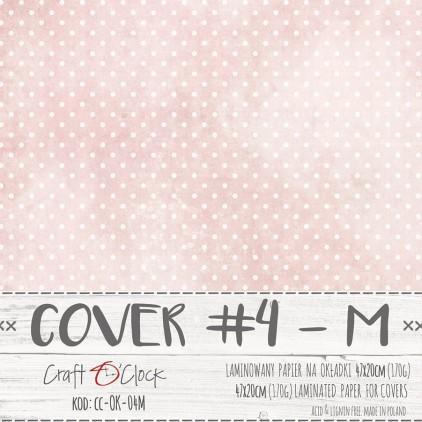 Papier laminowany na okładki albumów M- Craft O Clock - 04