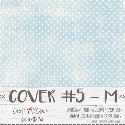 Papier laminowany na okładki albumów M- Craft O Clock - 05