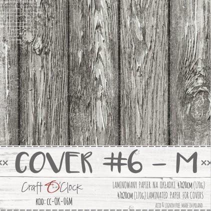 Papier laminowany na okładki albumów M- Craft O Clock - 06