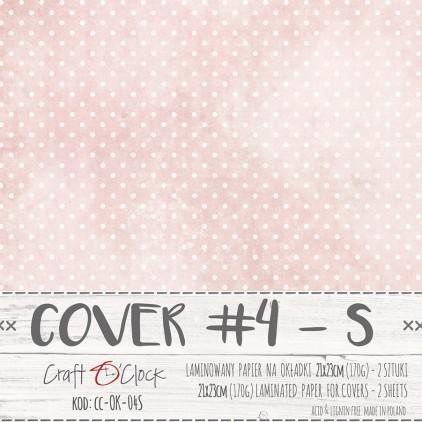 Papier laminowany na okładki albumów S - Craft O Clock - 04 - 2 sztuki