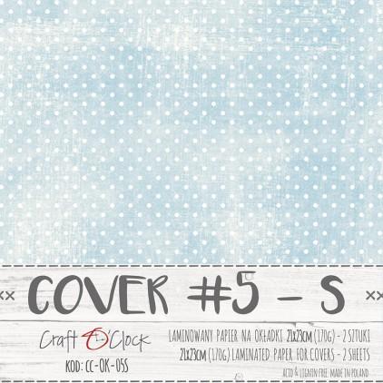 Papier laminowany na okładki albumów S - Craft O Clock - 05 - 2 sztuki