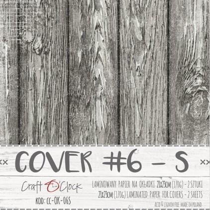 Laminated paper for album art S - Craft O Clock - 06 - 2 pcs.