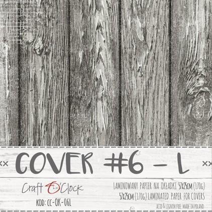 Papier laminowany na okładki albumów L - Craft O Clock - 06