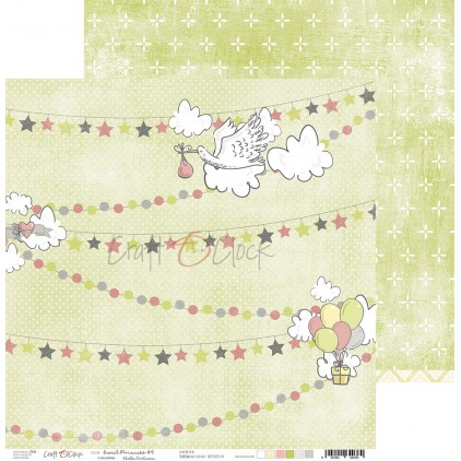 Papier do tworzenia kartek i scrapbookingu  - Craft O Clock - Sweet pincess 04