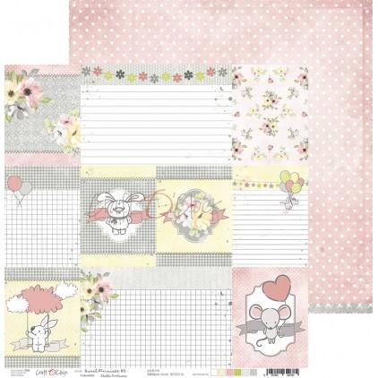 Scrapbooking paper - Craft O Clock - Sweet pincess 06