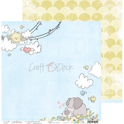 Scrapbooking paper - Craft O Clock - Sweet pince 02