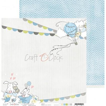 Scrapbooking paper - Craft O Clock - Sweet pince 03