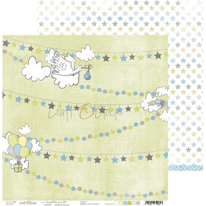 Papier do tworzenia kartek i scrapbookingu  - Craft O Clock - Sweet pince 04