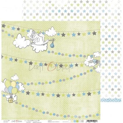 Scrapbooking paper - Craft O Clock - Sweet pince 04