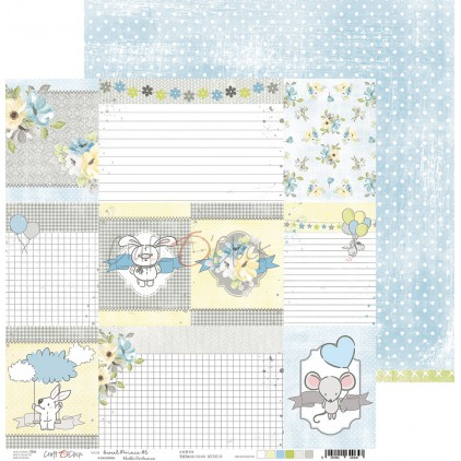 Papier do tworzenia kartek i scrapbookingu  - Craft O Clock - Sweet pince 06