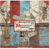 Zestaw papierów do tworzenia kartek i scrapbookingu - Stamperia - Mechanical Fantasy - SBBL54