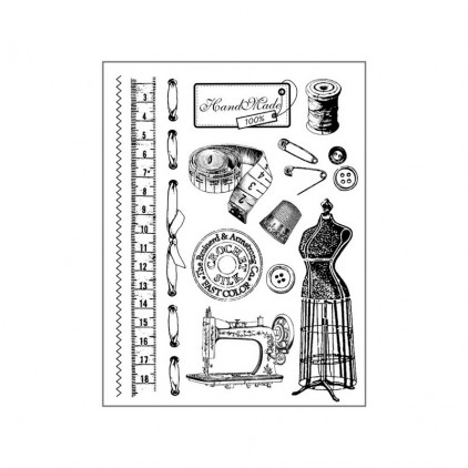 Set of clear stamps - Stamperia - Atelier - WTKCC120
