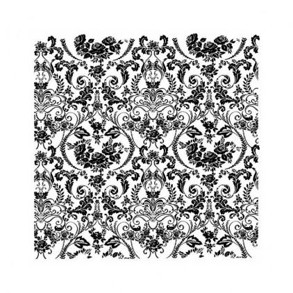 Stemple / pieczątki kauczukowe - Stamperia - Wallpaper - WTKCC155