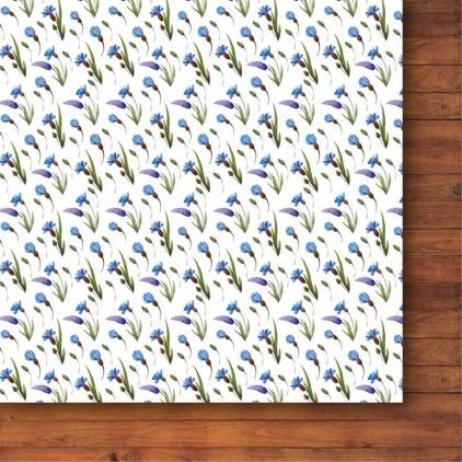 Papier do tworzenia kartek i scrapbookingu - Galeria Papieru - Bezkresne łąki 06