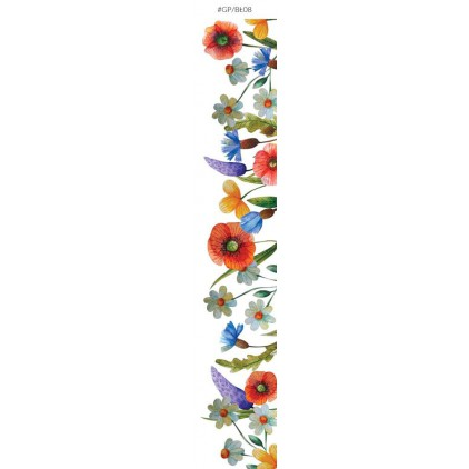 Pasek papieru z obrazkami do wycięcia - Galeria Papieru - Bezkresne łąki 08