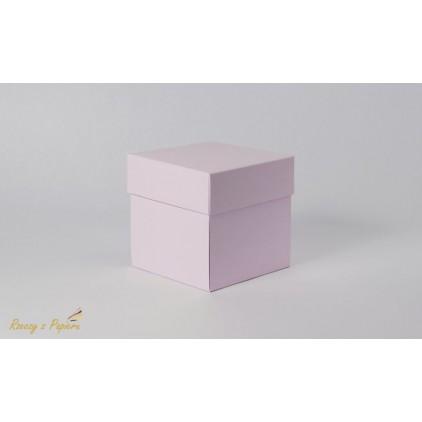 Pudełko exploding box 10x10x10 różowe - Rzeczy z Papieru