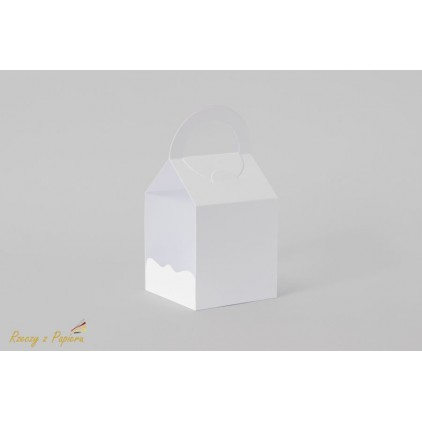 Bag for exploding box 10x10x10 white - Rzeczy z Papieru