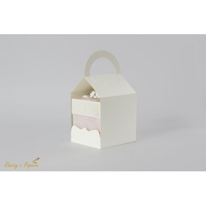 Bag for exploding box 10x10x10 cream - Rzeczy z Papieru