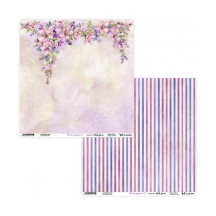 Papier scrapowy 30 x 30 cm -Meadow Impressions 01/02 - ScrapAndMe