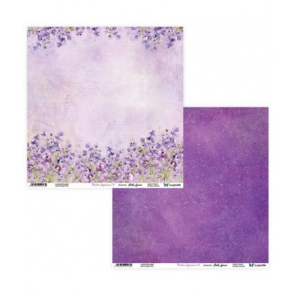 Scrapbooking paper 30 x 30 cm -Meadow Impressions 05/06 - ScrapAndMe