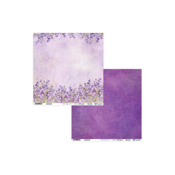 Papier scrapowy 30 x 30 cm -Meadow Impressions 05/06 - ScrapAndMe