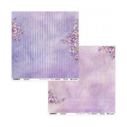 Scrapbooking paper 30 x 30 cm -Meadow Impressions 07/08 - ScrapAndMe