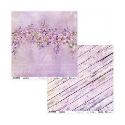 Scrapbooking paper 30 x 30 cm -Meadow Impressions 09/10 - ScrapAndMe