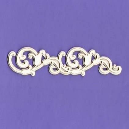 Tekturka ornament - Ramka Mania 2 G04  - 1287 - Crafty Moly