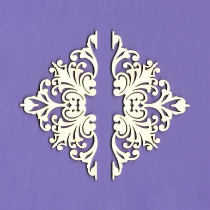 390 - tekturka ornamenty Majestic 1 - Crafty Moly