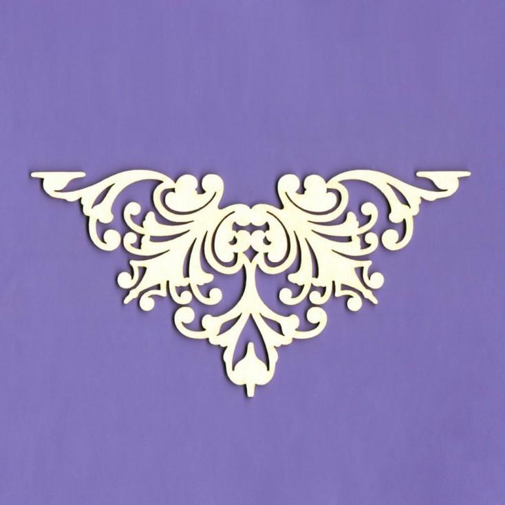 433 - laser cut, chipboard - ornaments Majestic 2 - Crafty Moly