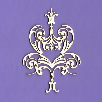 ornament Royall 16 laser cut, chipboard - Crafty Moly 1366