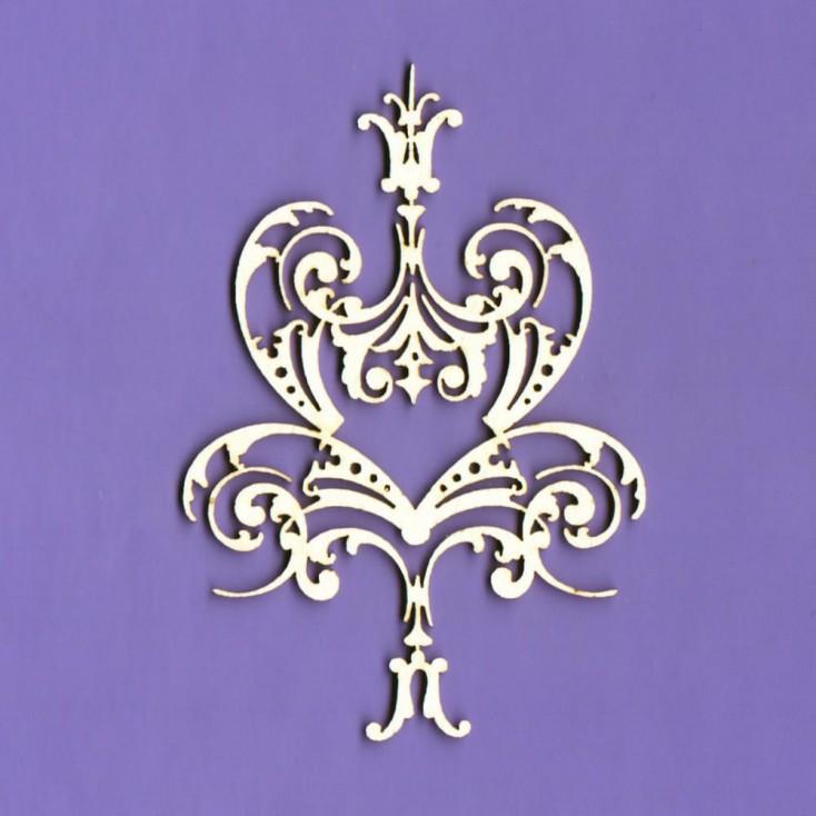 1366 - tekturka ornament Royall 16 - Crafty Moly