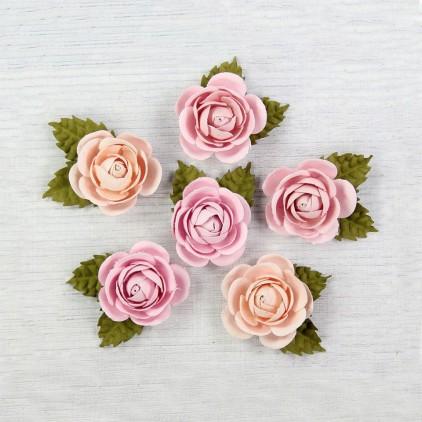 CR69301 scrapbooking flowers - Little Birdie - Sharon Pearl Pink
