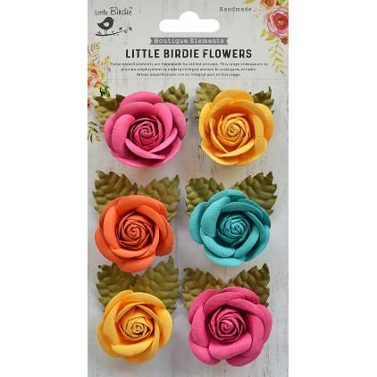 CR69336 - kwiatki papierowe - Little Birdie - Sharon Vivid Palette