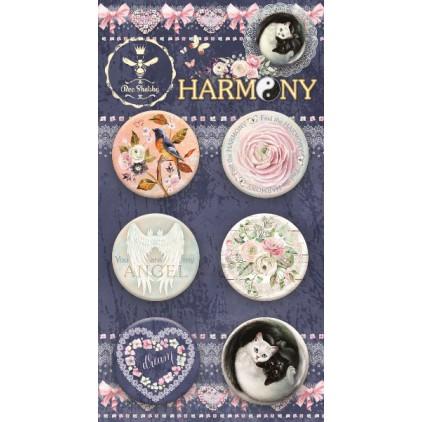 Buttony badziki - 560350 - Harmony - Bee Shabby