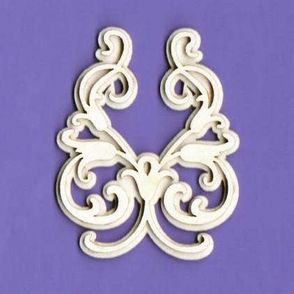 1286 - tekturka ornament 1 - Crafty Moly