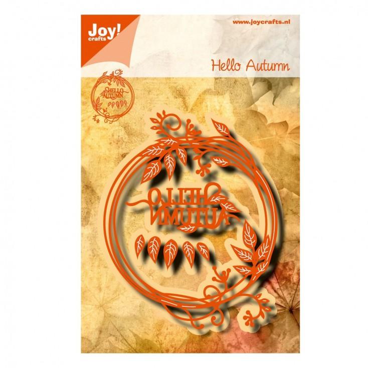 Joy crafts 6002/1045 die Hello Autumn