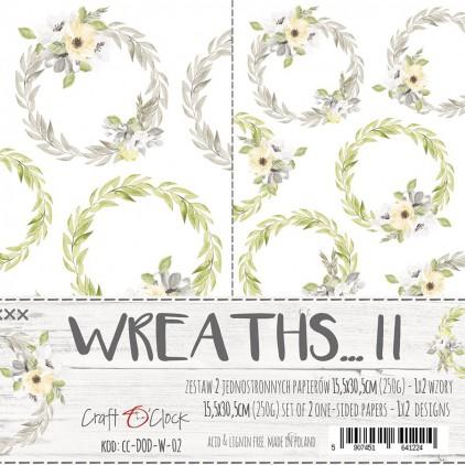 CC-DOD-W-02 -Set ofpaper accessories - Wreaths ... II - Craft O Clock