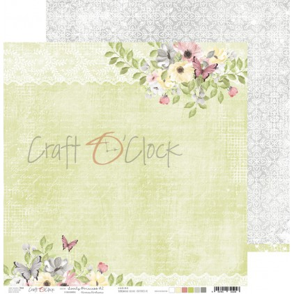 CC-PD-LPG-24A-02 Papier scrapowy 30 x 30 cm - Lovely Princess 2 - Craft O clock