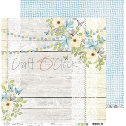 CC-PD-LPB-24A-03 Scrapbooking paper 30 x 30 cm - Lovely Prince 3 - Craft O clock