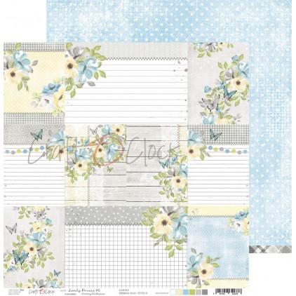 CC-PD-LPB-24A-06 Scrapbooking paper 30 x 30 cm - Lovely Prince 6 - Craft O clock