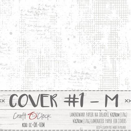 Papier laminowany na okładki albumów - Craft O Clock - 01