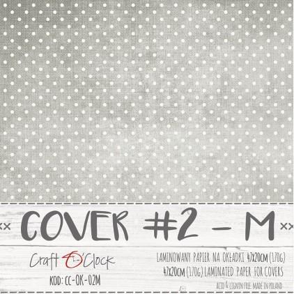 Papier laminowany na okładki albumów - Craft O Clock -  02