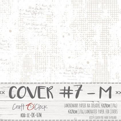 CC-OK-7M Papier laminowany na okładki albumów M- Craft O Clock
