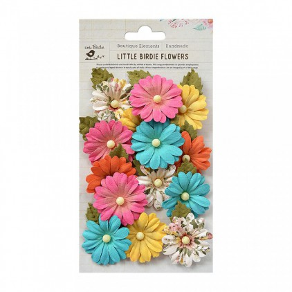 CR69661 scrapbooking flowers - Little Birdie - Valerie Vivid