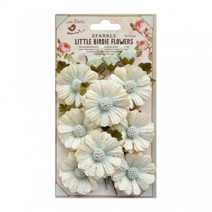 CR72087 scrapbooking flowers - Little Birdie -  Jessica Ocean
