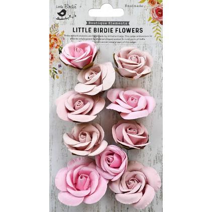 CR79340- kwiatki papierowe - Little Birdie - Joanna Pearl Pink