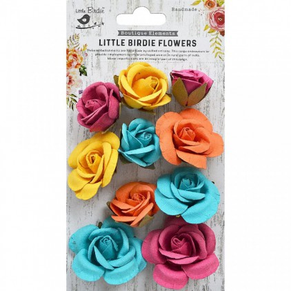 CR79338 scrapbooking flowers - Little Birdie - Joanna Vivid