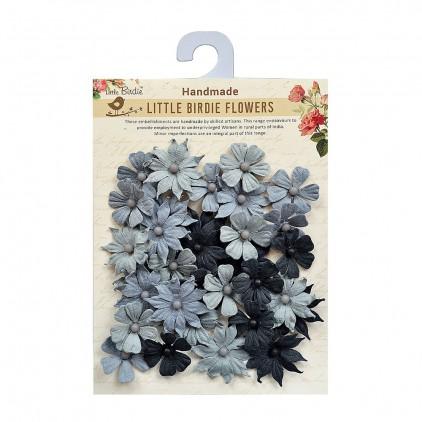 CR66978 scrapbooking flowers - Little Birdie - Valerie Grey Dove
