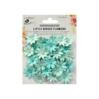 CR79036 - kwiatki papierowe - Little Birdie - Valerie Arctic Ice